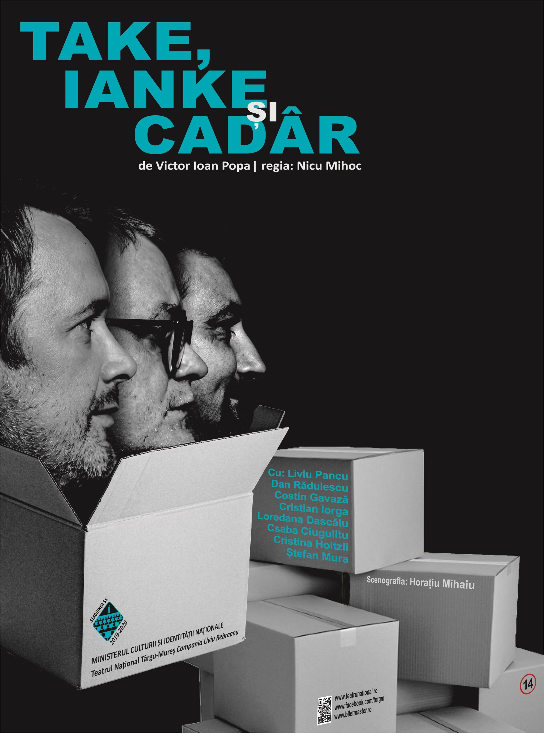 Read more about the article Take, Ianke si Cadar